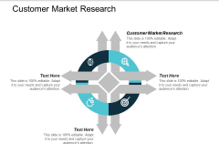 Customer Market Research Ppt PowerPoint Presentation Summary Examples Cpb