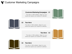 Customer Marketing Campaigns Ppt PowerPoint Presentation Gallery Files
