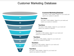 Customer Marketing Database Ppt PowerPoint Presentation Pictures Slide Download Cpb