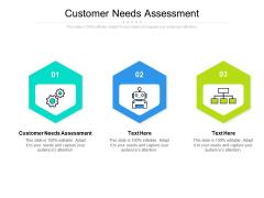 Customer Needs Assessment Ppt PowerPoint Presentation Portfolio Show Cpb