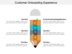 Customer Onboarding Experience Ppt PowerPoint Presentation Summary Rules Cpb