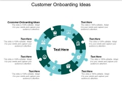 Customer Onboarding Ideas Ppt PowerPoint Presentation Summary Cpb