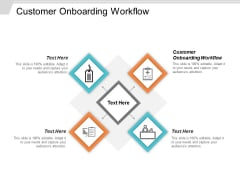 Customer Onboarding Workflow Ppt Powerpoint Presentation Pictures Deck Cpb