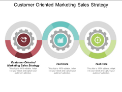 Customer Oriented Marketing Sales Strategy Ppt Powerpoint Presentation Portfolio Gallery Cpb