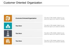 Customer Oriented Organization Ppt PowerPoint Presentation Summary Background Designs Cpb