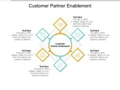Customer Partner Enablement Ppt PowerPoint Presentation Show Icon Cpb Pdf