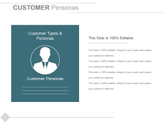 Customer Personas Ppt PowerPoint Presentation Slides Graphic Tips