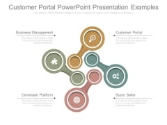 Customer Portal Powerpoint Presentation Examples