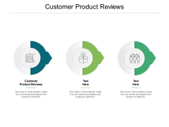 Customer Product Reviews Ppt PowerPoint Presentation Icon Gallery Cpb