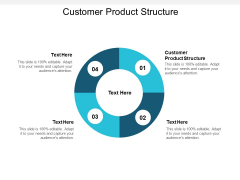 Customer Product Structure Ppt PowerPoint Presentation Portfolio Slide Portrait Cpb