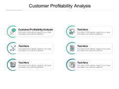 Customer Profitability Analysis Ppt PowerPoint Presentation Portfolio Design Inspiration Cpb