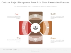 Customer Project Management Powerpoint Slides Presentation Examples