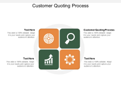 Customer Quoting Process Ppt PowerPoint Presentation Ideas Deck Cpb