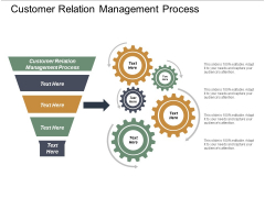 Customer Relation Management Process Ppt PowerPoint Presentation Show Shapes Cpb