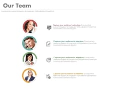 Customer Relation Team With Pictures Powerpoint Slides