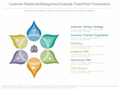 Customer Relational Management Example Powerpoint Presentation