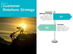 Customer Relations Strategy Ppt Powerpoint Presentation Show Background Image Cpb