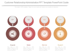 Customer Relationship Administration Ppt Template Powerpoint Guide
