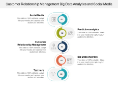 Customer Relationship Management Big Data Analytics And Social Media Ppt PowerPoint Presentation Show Ideas