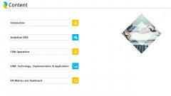 Customer Relationship Management Content Ppt Summary Graphics Tutorials PDF