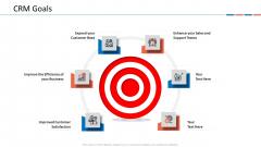 Customer Relationship Management Dashboard CRM Goals Brochure PDF