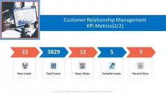 Customer Relationship Management Dashboard Customer Relationship Management KPI Metrics Open Ideas PDF