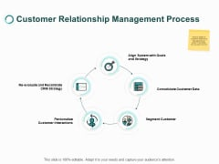 Customer Relationship Management Process Ppt PowerPoint Presentation File Slides