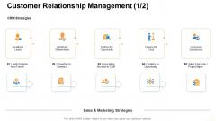 Customer Relationship Management Qualifying Leads Ppt Infographics Portrait PDF