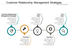 Customer Relationship Management Strategies Ppt PowerPoint Presentation Guidelines Cpb