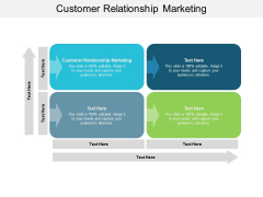 Customer Relationship Marketing Ppt PowerPoint Presentation Show Layout Ideas Cpb