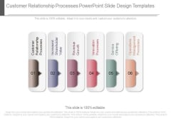 Customer Relationship Processes Powerpoint Slide Design Templates
