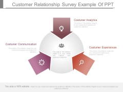 Customer Relationship Survey Example Of Ppt