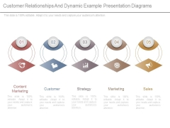 Customer Relationships And Dynamic Example Presentation Diagrams