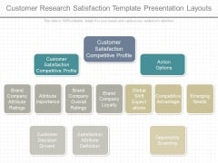 Customer Research Satisfaction Template Presentation Layouts