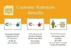 Customer Retention Benefits Ppt PowerPoint Presentation File Example