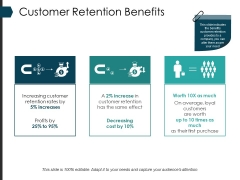 Customer Retention Benefits Ppt PowerPoint Presentation Gallery Mockup