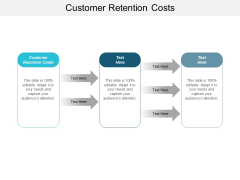 Customer Retention Costs Ppt PowerPoint Presentation Infographic Template Outline Cpb