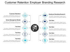 Customer Retention Employer Branding Research Stress Management Model Ppt PowerPoint Presentation Visual Aids Icon