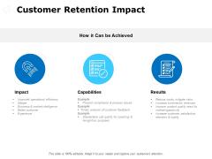 Customer Retention Impact Ppt PowerPoint Presentation File Slide Download
