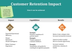 Customer Retention Impact Ppt PowerPoint Presentation Icon Designs
