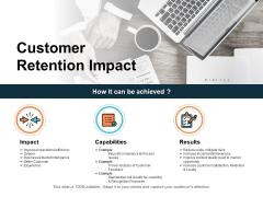 Customer Retention Impact Ppt PowerPoint Presentation Outline Slides