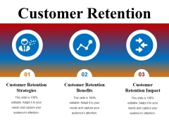 Customer Retention Ppt PowerPoint Presentation Outline Images