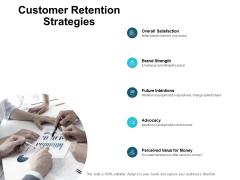Customer Retention Strategies Ppt PowerPoint Presentation File Summary