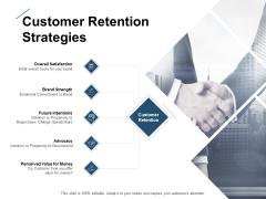 Customer Retention Strategies Ppt PowerPoint Presentation Portfolio Topics