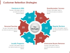 Customer Retention Strategies Ppt PowerPoint Presentation Slides Graphics Example