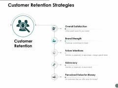 Customer Retention Strategies Ppt Powerpoint Presentation Summary Brochure