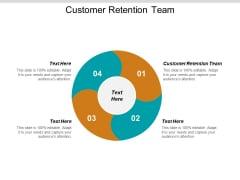 Customer Retention Team Ppt PowerPoint Presentation Inspiration Model Cpb