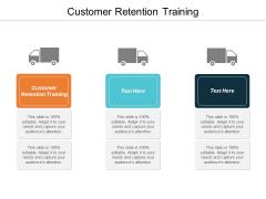 Customer Retention Training Ppt PowerPoint Presentation Ideas Format Cpb