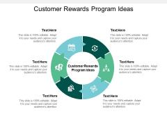Customer Rewards Program Ideas Ppt PowerPoint Presentation Model Styles Cpb
