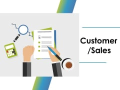 Customer Sales Ppt PowerPoint Presentation Ideas Inspiration